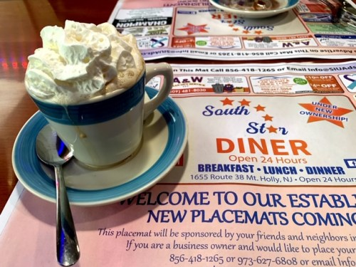 South Star Diner (Mount Holly) coffee
