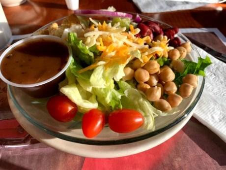 Saddle Brook Diner salad