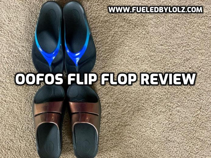 Oofos Flip Flop Review