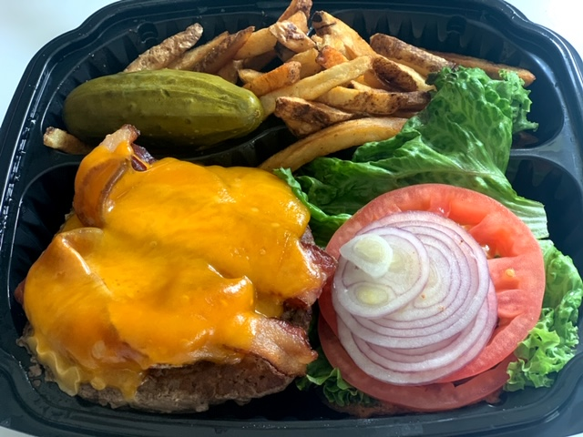 Vincentown Diner take out burger
