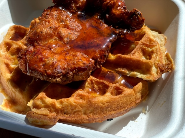 Jax Diner (Napa) chicken and waffles