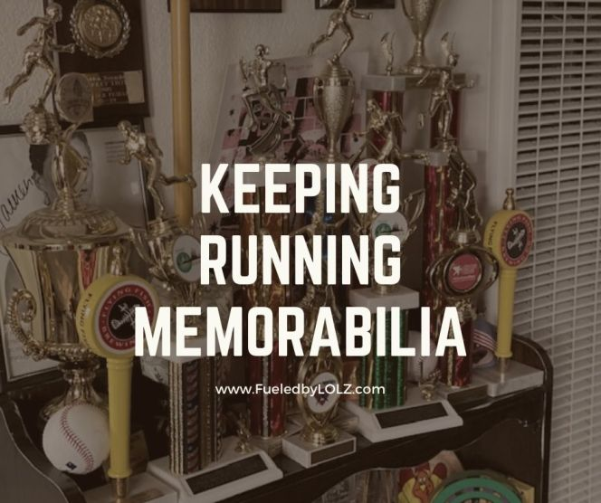 Keeping Running Memorabilia