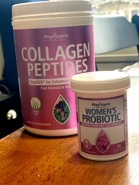 Collagen and probiotic