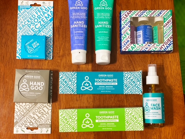 Green goo products