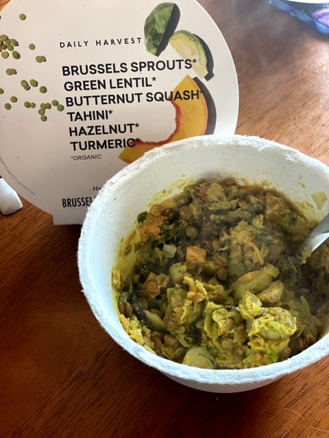 Daily Harvest Review brussel sprouts