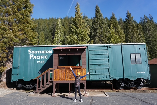 Staying at Railroad Park Resort in Dunsmuir, CA