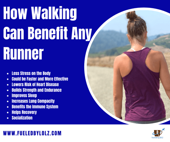 Benefits of walking for runners
