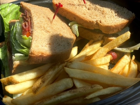 Richie's Real American Diner (Temecula) double decker blt