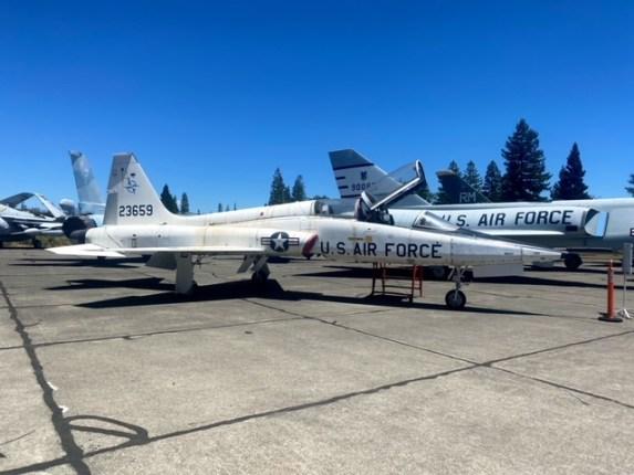 Visiting the Pacific Coast Air Museum (PCAM)