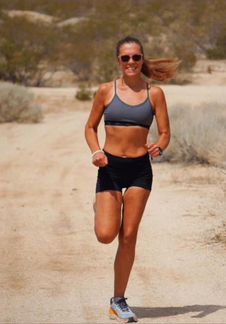 me desert running