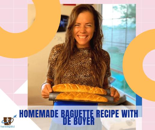 Homemade Baguette Recipe with De Buyer