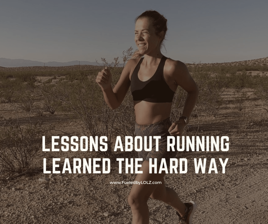 lessons learned about running