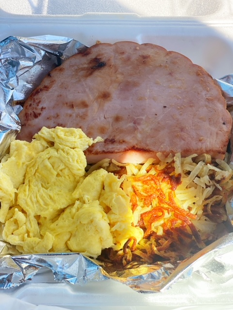Four Corners Restaurant (Tracy, CA) ham
