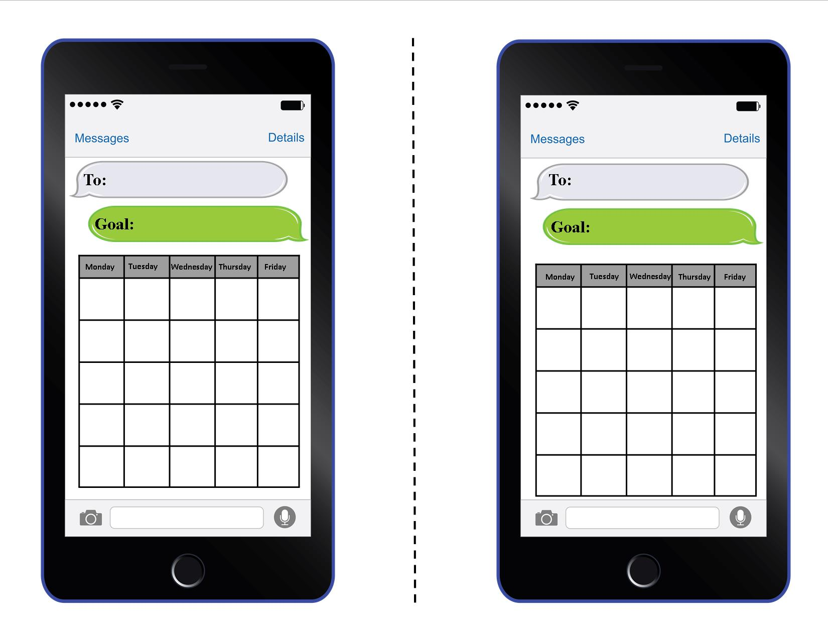 Editable Cell Phone Behavior Cards