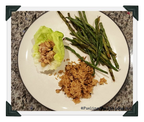 Ground Lettuce Turkey Wraps
