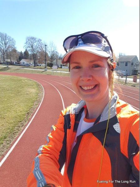 Running Track Selfie