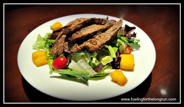 OnFire Grill - Tuscan Salad with steak
