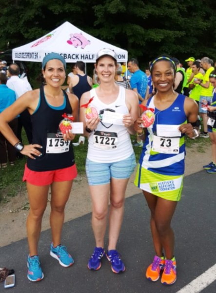 Solstic Spring 5k - Finish