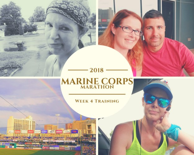 Marine Corps Marathon Training - Week 4