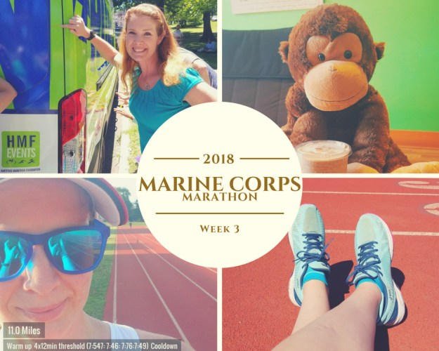 Marine Corps Marathon Training - Week 3