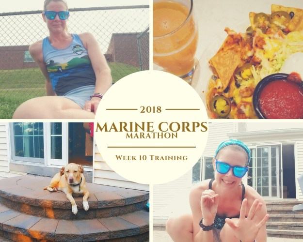 Marine Corps Marathon Training - Week 10