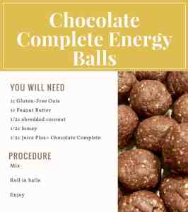 Chocolate Complete Energy Balls