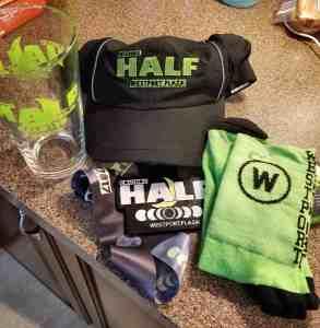 Equinox Half Marathon Race Swag