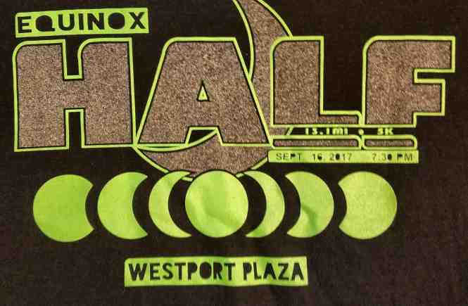 Equinox Half Marathon t-shirt