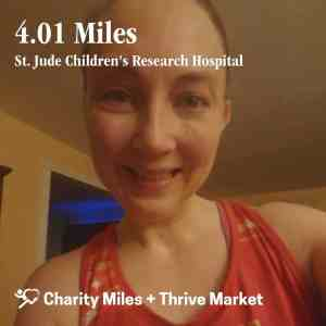 Charity Miles Social Share