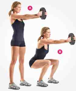Squat with weight