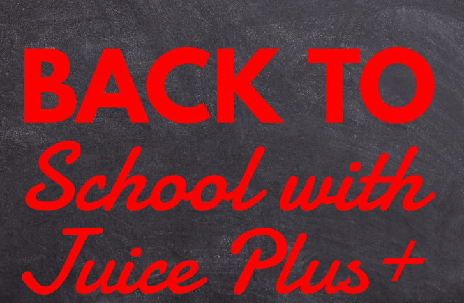 Back to School with Juice Plus+