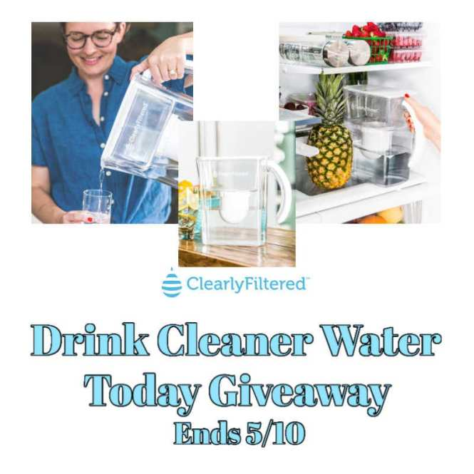 Drink Cleaner Water Today Giveaway