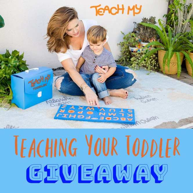 Teaching Your Toddler Giveaway
