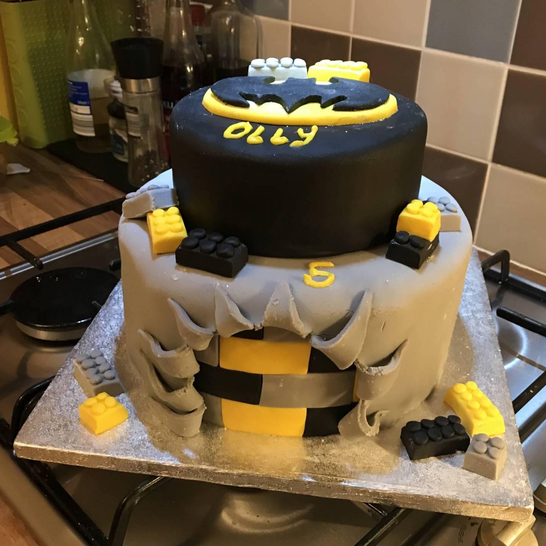 Lego Batman Birthday Cake