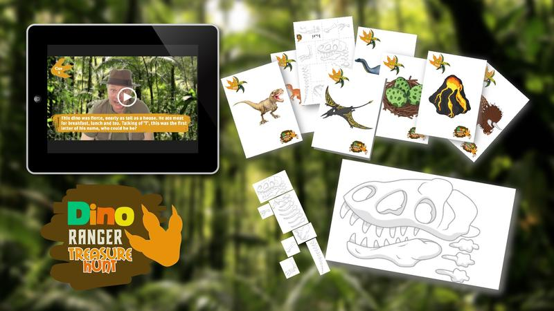 Dino Ranger Treasure Hunt