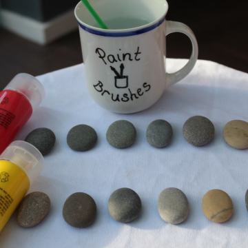 Five Favourite Painted Pebble Activities for Kids