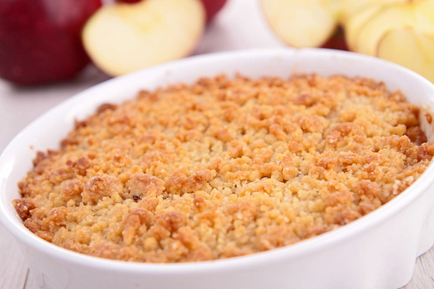 No Wheat Oat Crumble