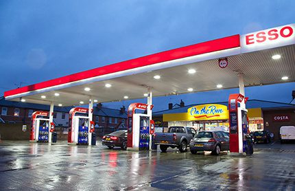 Esso is rolling out a new site image at select Esso-branded service stations