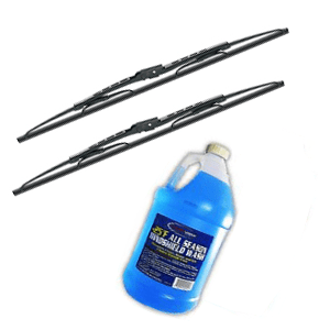 Washer Fluid &Wiper Blades