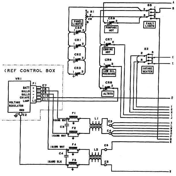 figure j1 control panel wiring diagram sheet 1 of 2