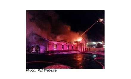 Fire at PEI Headquarters