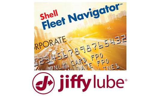 Shell Fleet Navigator(SM) Teams Up With Jiffy Lube® To Offer Benefits For Fleets