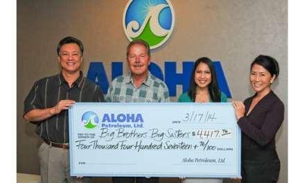Aloha Petroleum Donates $4,417 to Big Brothers Big Sisters Hawaii