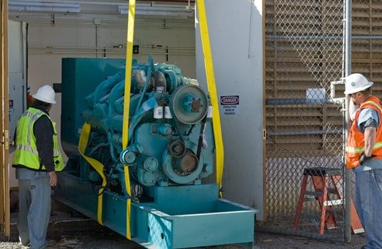 Emergency Diesel Generators Keep Critical Services Running During D.C. Power Outage