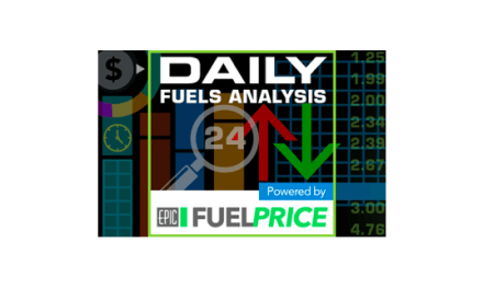 August 15, 2017: Gasoline and Diesel Retail Prices Rise Again, WTI Dives