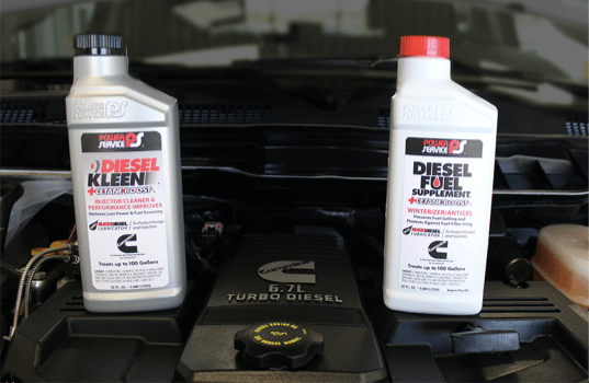Cummins Inc. Recommends Power Service® Diesel Kleen +Cetane and Diesel Fuel Supplement +Cetane Boost for Optimized Engine Performance