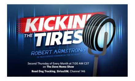 """A Truck Service Commercial Tire Network & the Dave Nemo Show Launch New Radio Segment – """"Kickin' the Tires"""""""