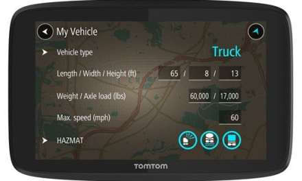 TomTom Introduces New GPS Device for Truckers in North America