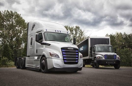 Daimler Trucks North America Announces Penske Truck Leasing and NFI as Partners for Freightliner Electric Innovation Fleet