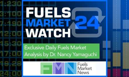 Fuels Market Watch 24, August 24th Edition